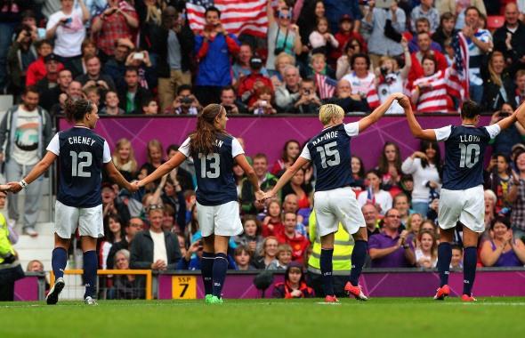 Olympics Day 4 - Women's Football - USA v DPR Korea