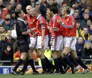 Roy Keane was a master of intimidation.